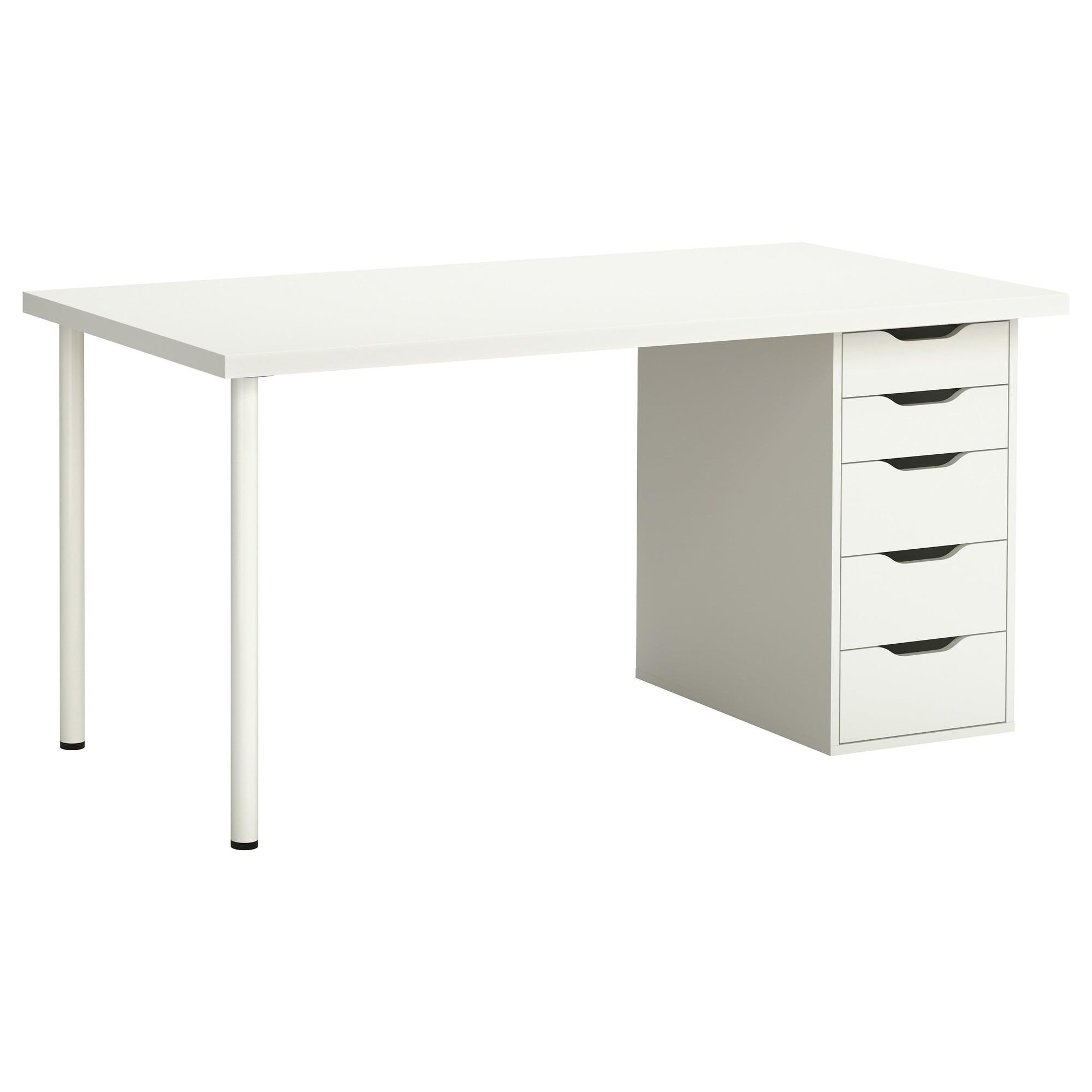 Ikea Mesas De Escritorio Jxdu Medidas Mesa Escritorio A Favor De Alex Linnmon Mesa Blanco 150 X 75
