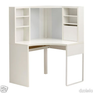 Ikea Mesas De Escritorio Mndw Ikea Micke Desk Table Puter Corner Work Station White 502 507 13