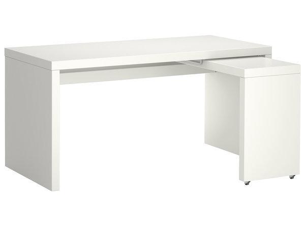 Ikea Mesas De Escritorio Mndw Mesa De Estudio Con Superficie Extra De Trabajo Equipa Su
