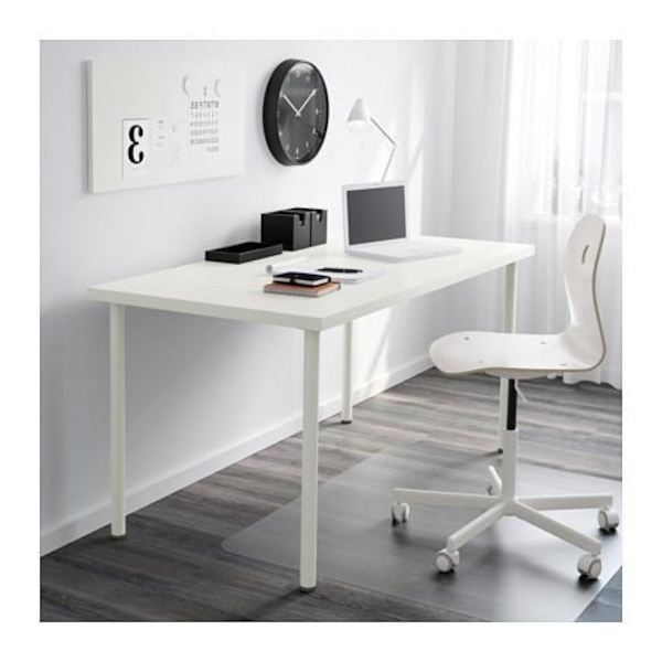 Ikea Mesas De Escritorio U3dh Used Escritorio Mesa Ikea Blanco for Sale In Barcelona Letgo