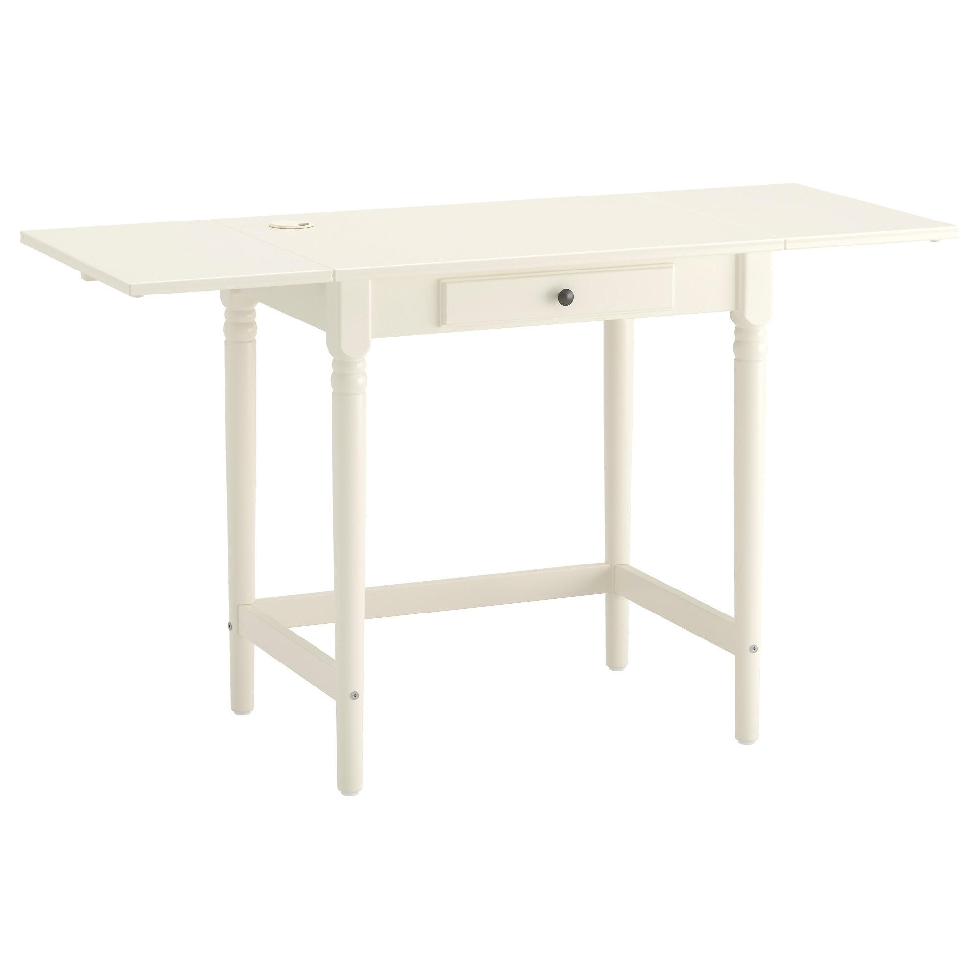 Ikea Mesas Escritorio Zwdg Ingatorp Escritorio Blanco 73 X 50 Cm Ikea
