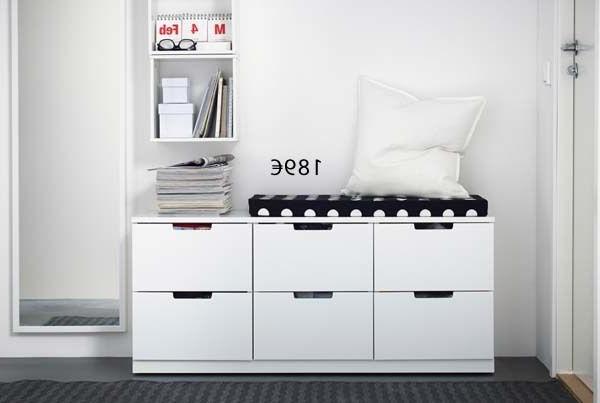 Ikea Mueble Zapatero Txdf Bissa Zapatero 2 Blanco 49 X 93 Cm