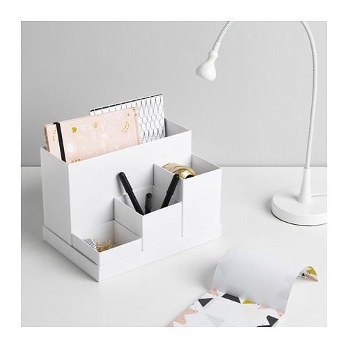 Ikea organizador Escritorio 8ydm organizador De Escritorio Tjena De Ikea Suecia Blanco 799 00