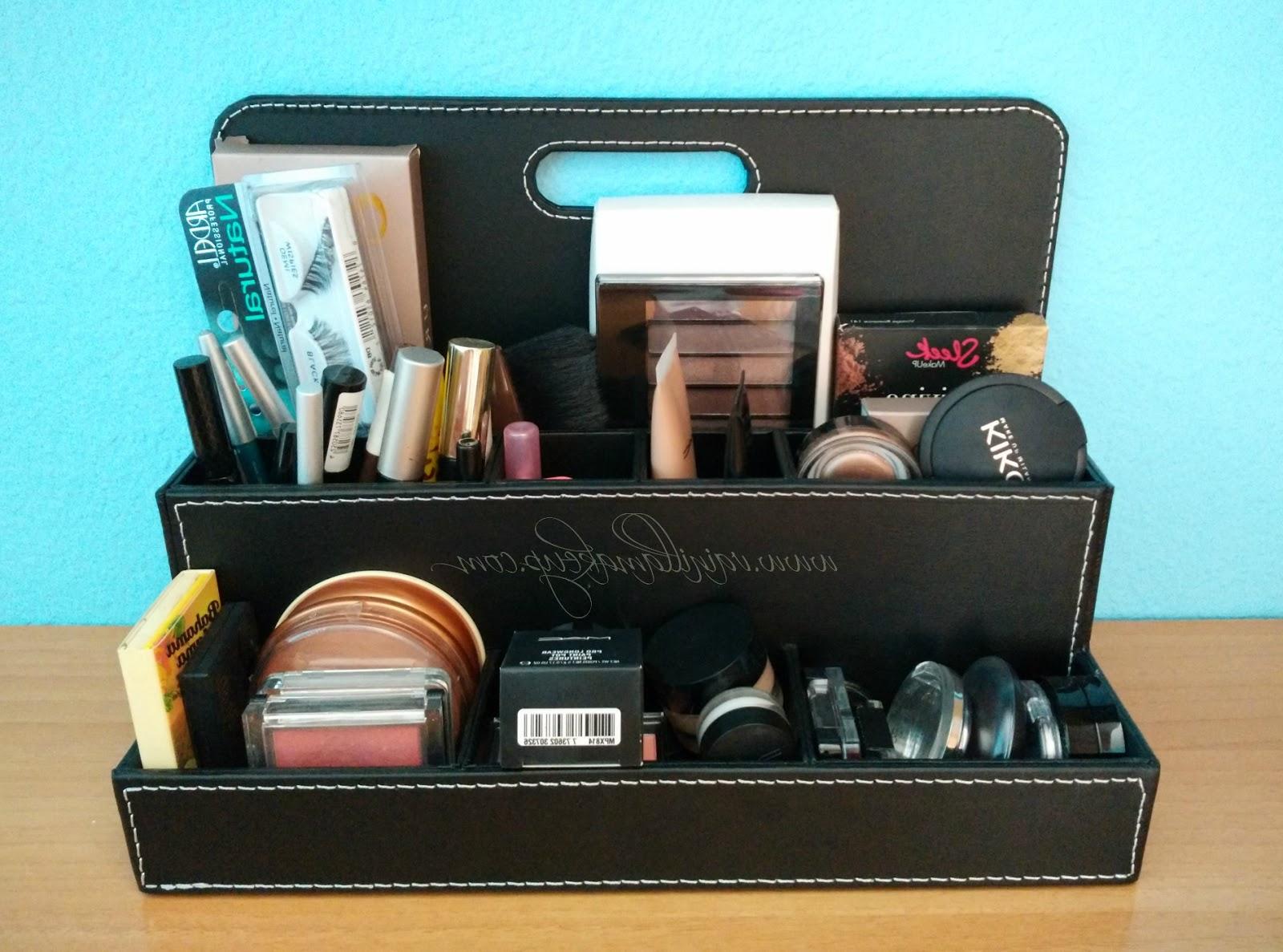 Ikea organizador Escritorio Bqdd Ideas Para organizar El Maquillaje Vainilla Makeup