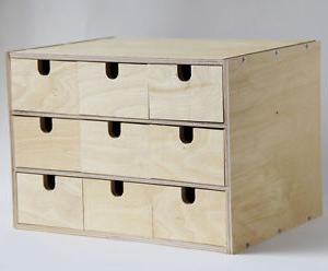 Ikea organizador Escritorio Ffdn Pecho De Almacenamiento De Madera De Abedul Ikea Fira Caja Con 9