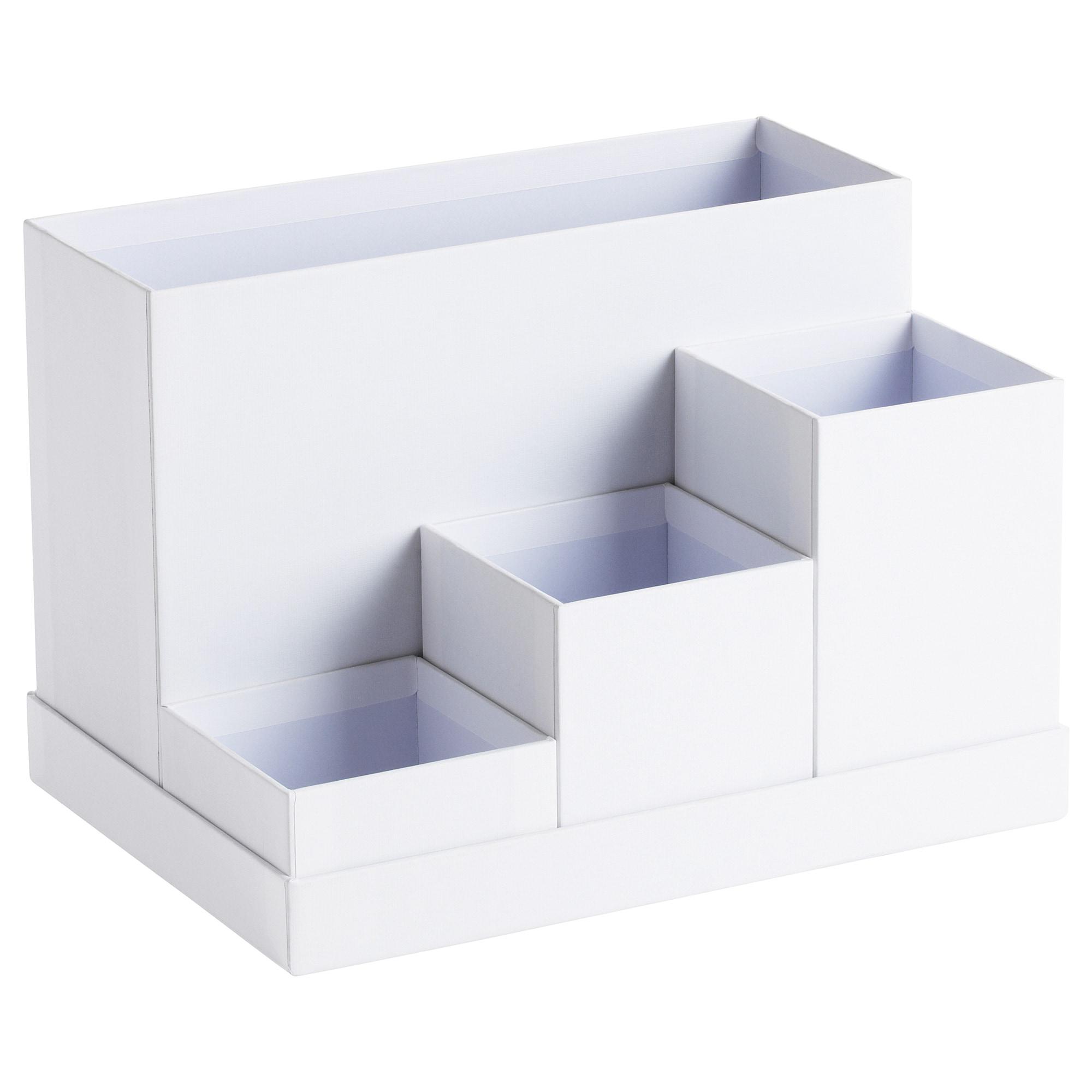 Ikea organizador Escritorio Fmdf Tjena organizador Escritorio Blanco 18 X 17 Cm Ikea