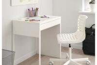 Ikea Protector Escritorio E6d5 Micke Escritorio Blanco 73 X 50 Cm Ikea