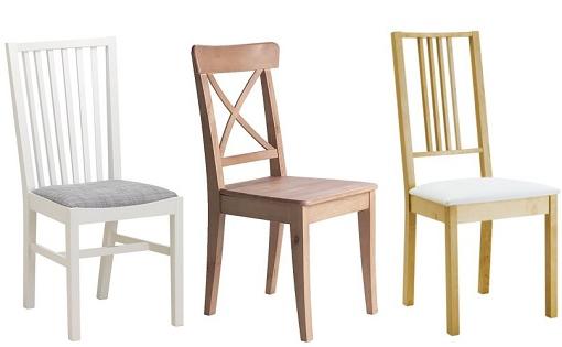 Ikea Sillas Cocina Thdr Sillas De Madera De Ikea Para El Edor Y La Cocina Mueblesueco