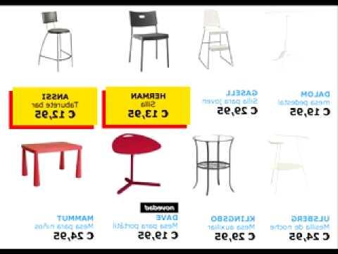 Ikea Sillas Cocina Txdf Sillas Y Mesas Ikea Youtube