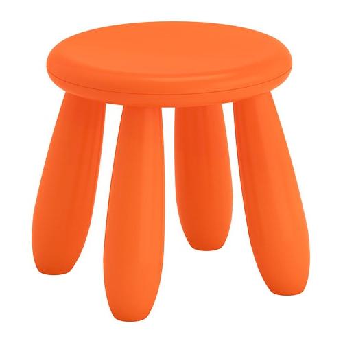 Ikea Sillas Niños 0gdr Mammut Taburete Nià Os Int Ext Naranja Ikea