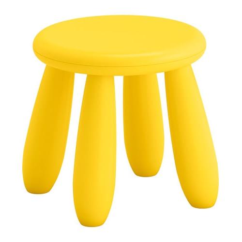 Ikea Sillas Niños Fmdf Mammut Taburete Nià Os Int Ext Amarillo Ikea