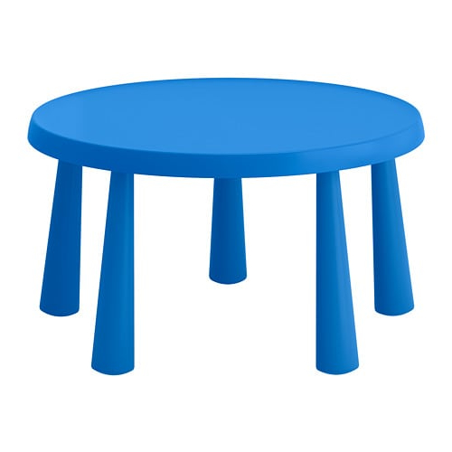 Ikea Sillas Niños Irdz Mammut Mesa Para Nià Os Int Ext Azul 85 Cm Ikea