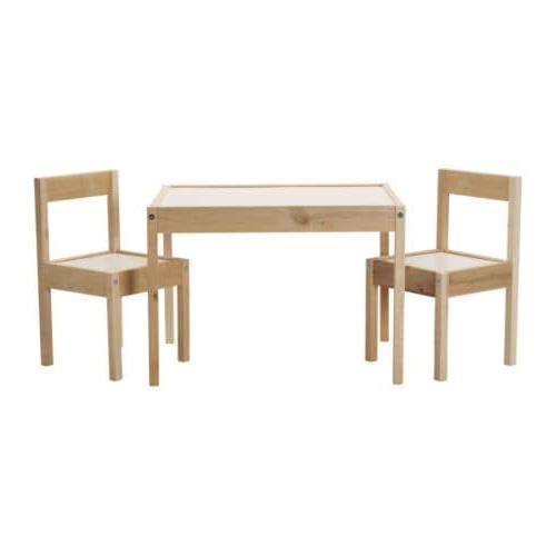 Ikea Sillas Niños Whdr Là Tt Mesa Para Nià Os Con 2 Sillas Blanco Pino Ikea