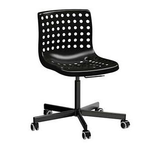 Ikea Sillas ordenador Tqd3 Detalles De Ikea Silla Giratoria De Oficina Escritorio Negro Nuevo