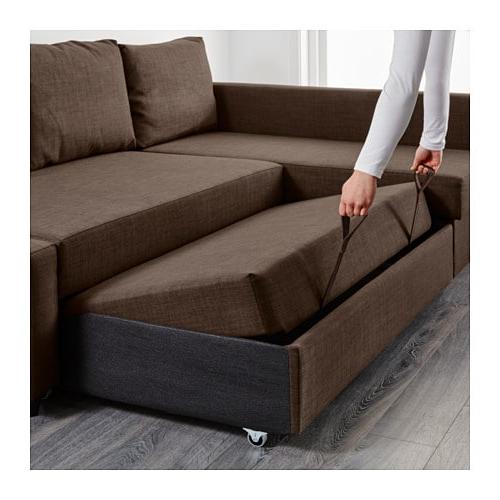 Ikea sofa Friheten 4pde Friheten Corner sofa Bed with Storage Skiftebo Dark Grey Ikea