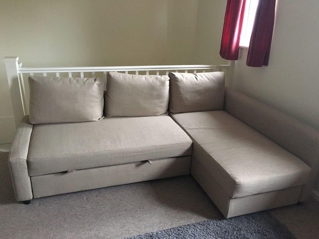 Ikea sofa Friheten Dddy Ikea Friheten Corner sofa Bed with Storage In Beige In Coventry