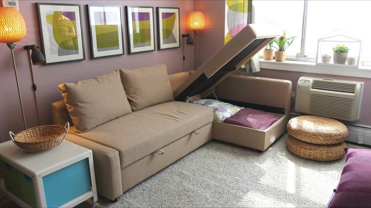 Ikea sofa Friheten Nkde Friheten sofa Bed Ikea Home tour Youtube
