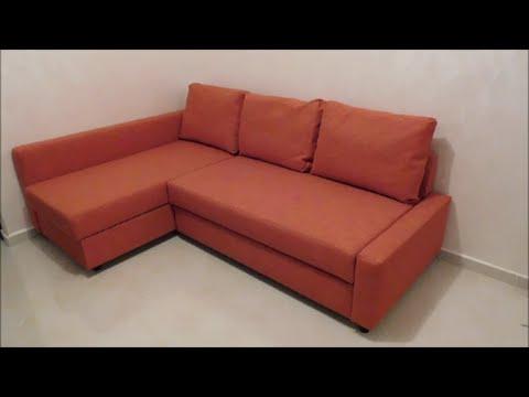 Ikea sofa Friheten Thdr assembly Friheten sofa Bed From Ikea Youtube