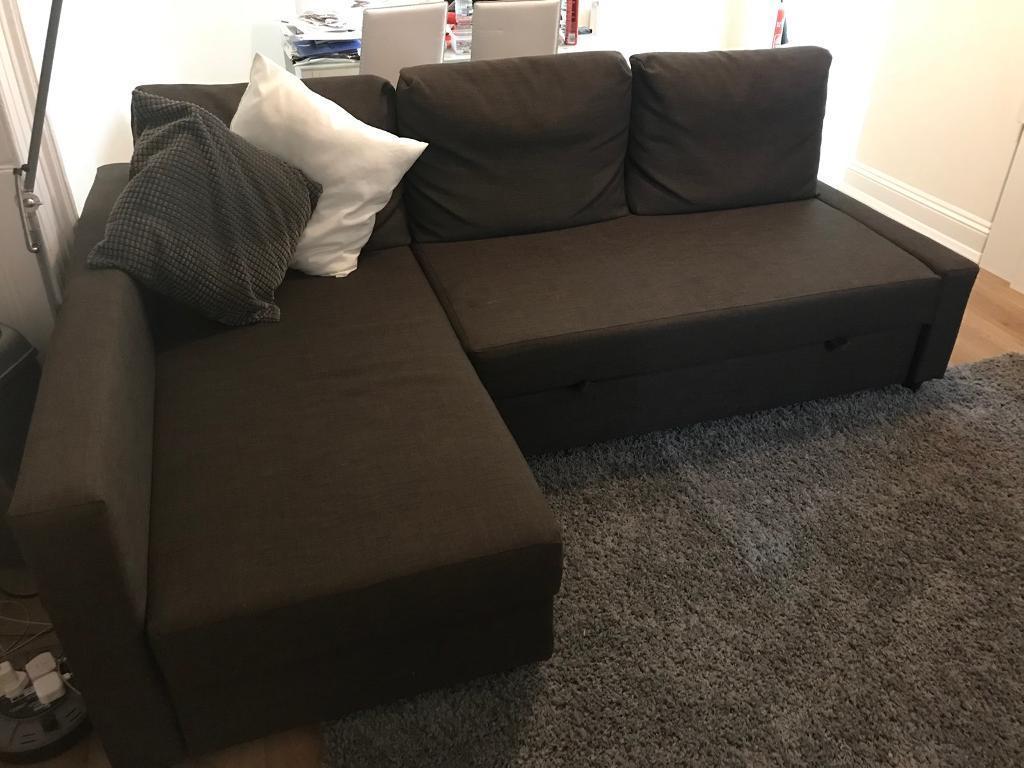 Ikea sofa Friheten Wddj Brown Ikea Friheten sofa Bed Great Condition Can Deliver In