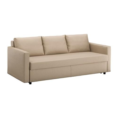 Ikea sofas Cama Kvdd Friheten sofà Cama 3 Plazas Skiftebo Beige Ikea