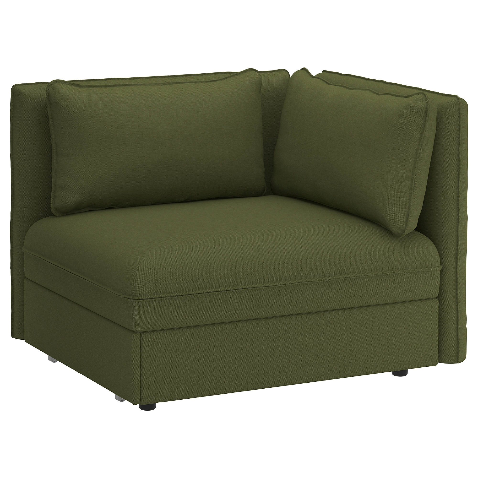 Ikea sofas Cama Txdf Vallentuna Mà Dulo sofà Cama Con Reposabrazos orrsta Verde Oliva Ikea