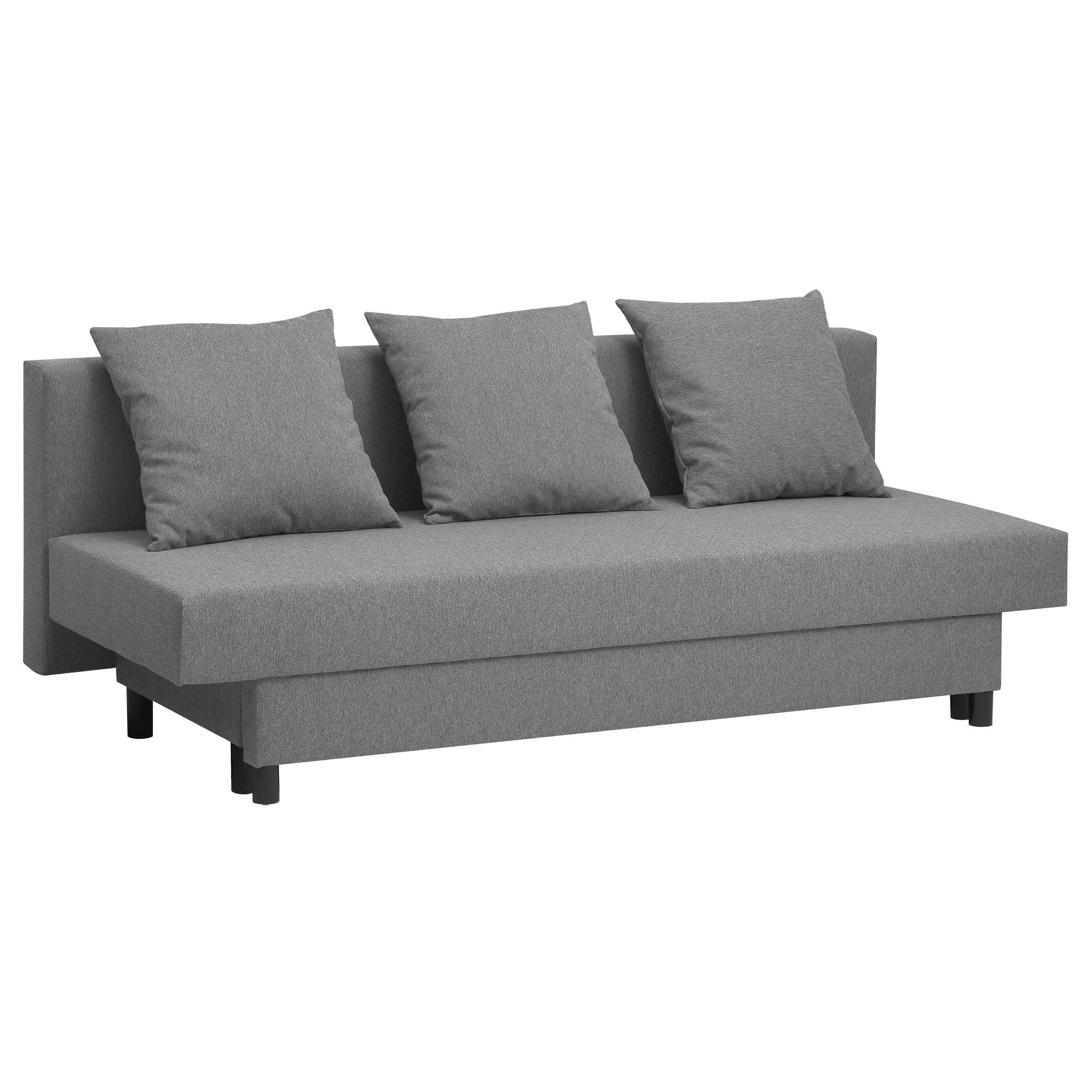 Ikea sofas Cama Y7du asarum Three Seat sofa Bed Grey Ikea