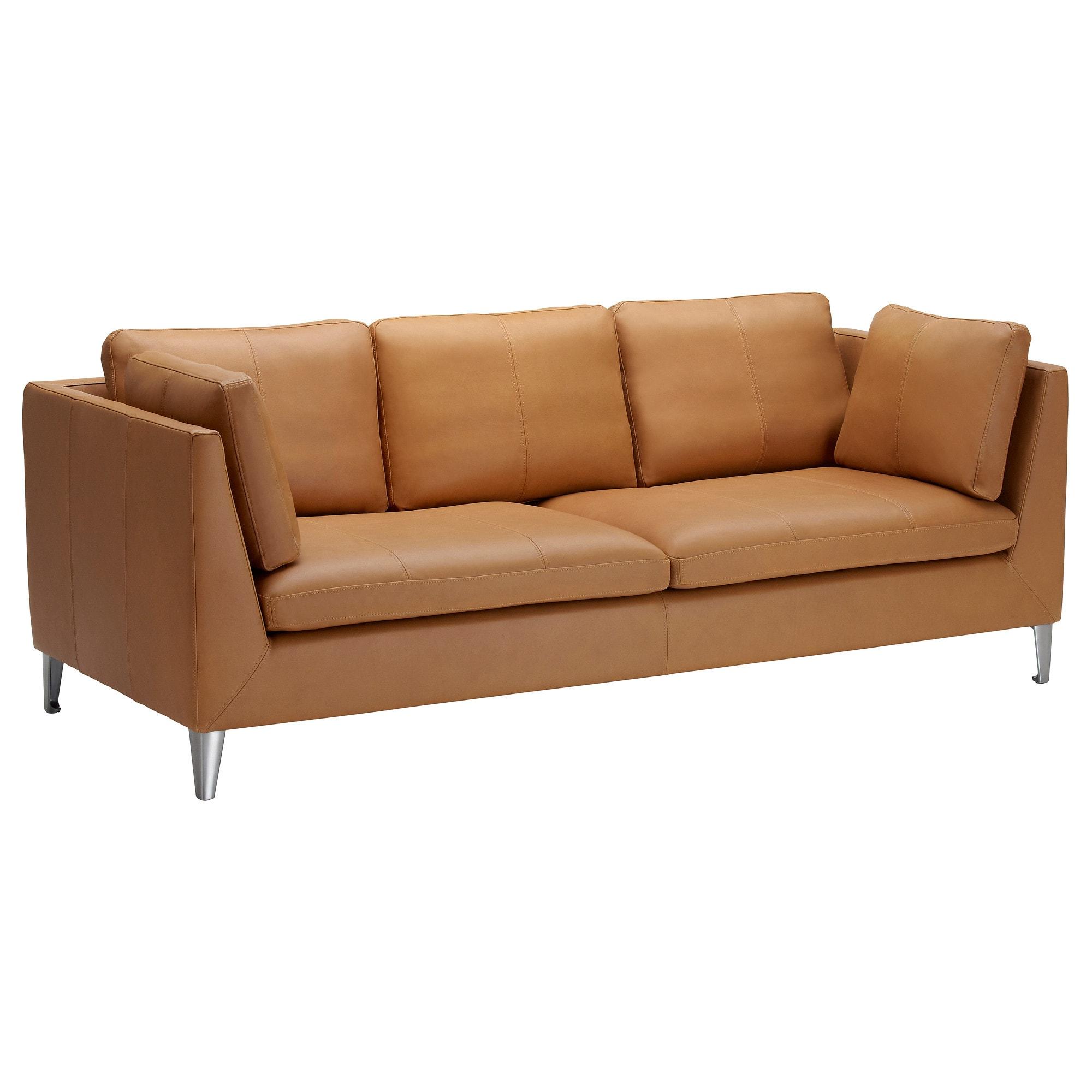 Ikea sofas Piel 3ldq Stockholm sofà 3 Plazas Seglora Natural Ikea
