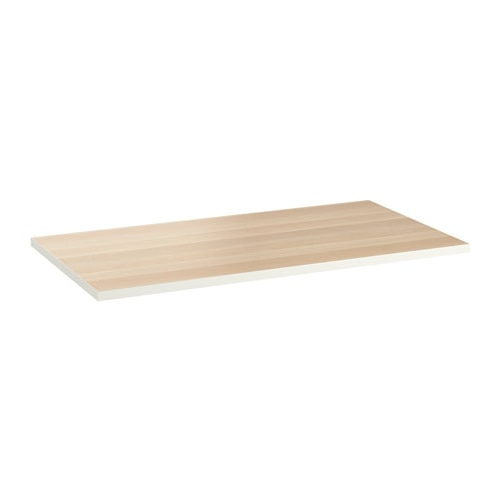 Ikea Tableros Mesa Tqd3 Linnmon Tablero Blanco Efecto Roble Tinte Blanco 150 X 75 Cm Ikea