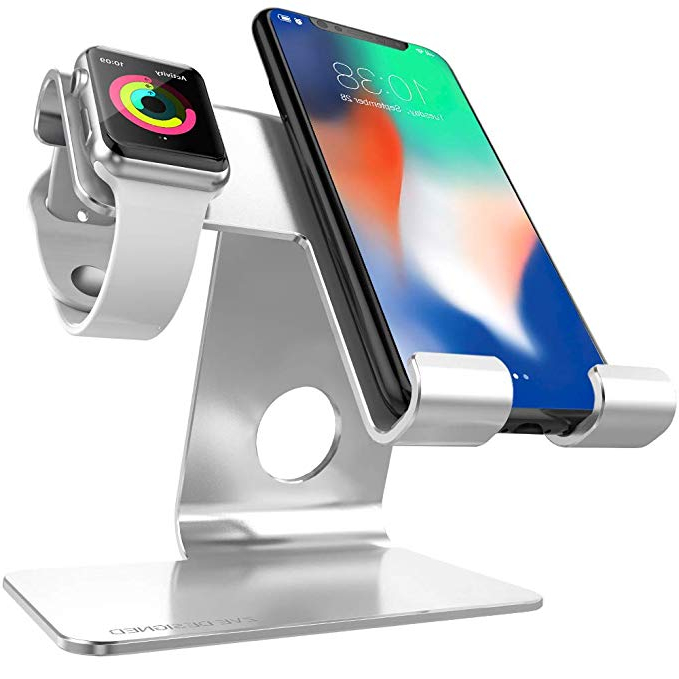 iPhone Tablet Rldj Iwatch Charger Stand Zveproof 2 In 1 Universal Desktop