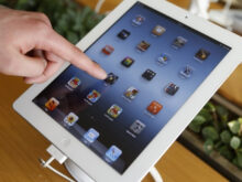 iPhone Tablet