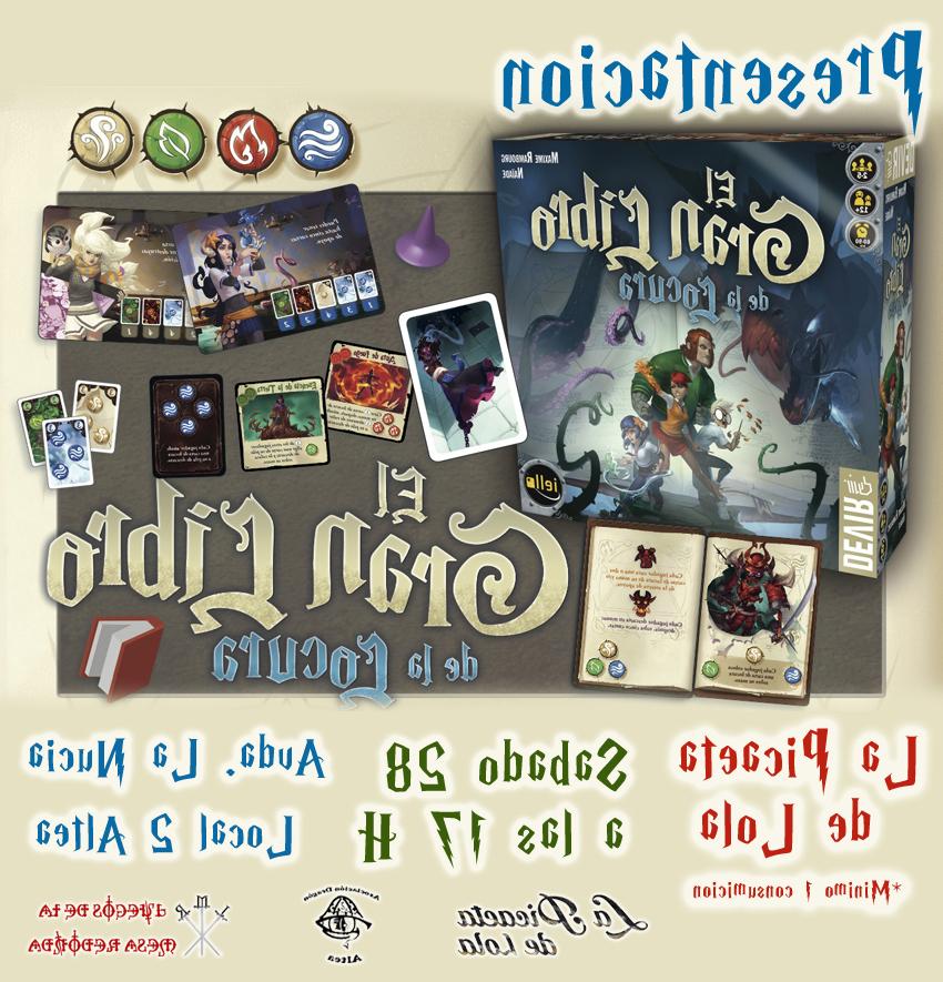 Juegos De La Mesa Redonda E6d5 Presentacià N Del Juego De Mesa El Gran Libro De La Locura Juegos