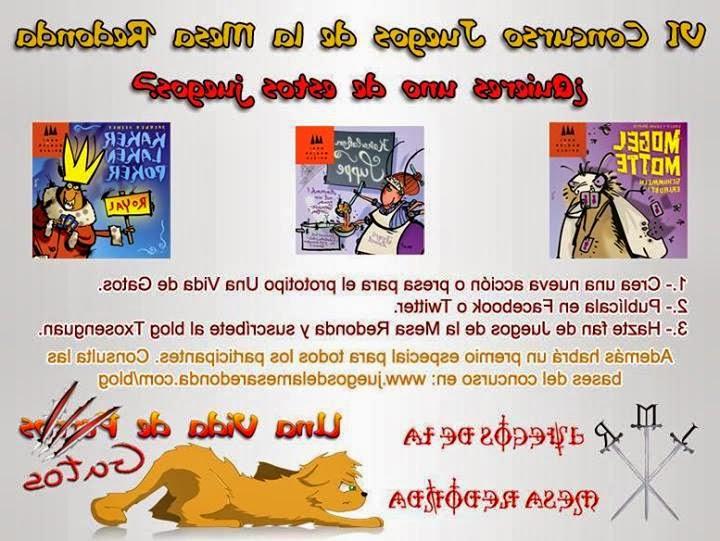 Juegos De La Mesa Redonda E9dx Aviso A Roleantes Vi Concurso De Juegos De La Mesa Redonda