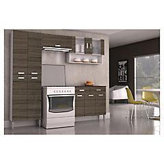 Kit Muebles De Cocina 0gdr Kit Mueble Cocina 220x201x36 Cm Parana sodimac