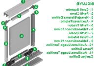 Kit Perfiles Puertas Correderas Armarios 87dx Perfil Tirador Precios Increibles Imorshop