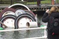 La Vajilla Bilbao 3id6 DÃ A Mundial Del Agua 2017 Vajilla Sucia Gigante En La RÃ A De Bilbao