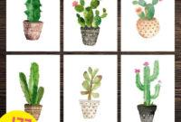 Laminas Imprimibles Para Cuadros Ftd8 LÃ Minas Imprimibles Set Cactus Imprimibles Para Cuadros