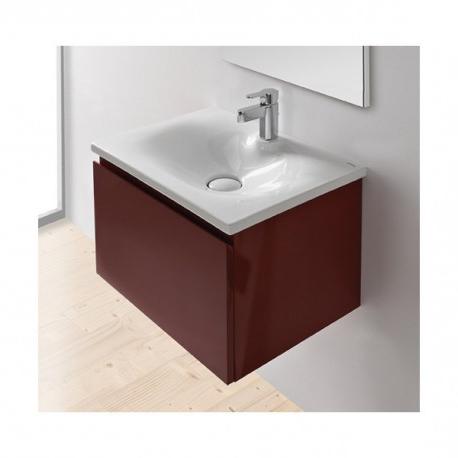 Lavabos sobre Mueble E9dx Lavabo sobre Mueble O Mural Unisan Clean 60 63 X 46 5 Cm