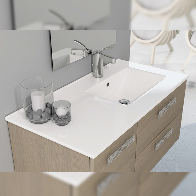 Lavabos sobre Mueble Etdg Lavabo Cerà Mico Seno Desplazado sobre Mueble the Bath