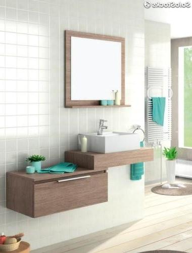 Lavabos sobre Mueble X8d1 Conjunto Mueble De Baà O Lin 70 Lavabo sobre Encimera Espejo Con