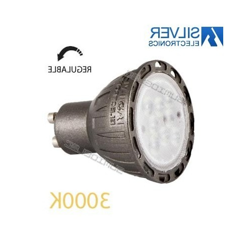 Led Regulable Nkde Illa Led Regulable Gu10 7w 3000k Silver Electronics Precio