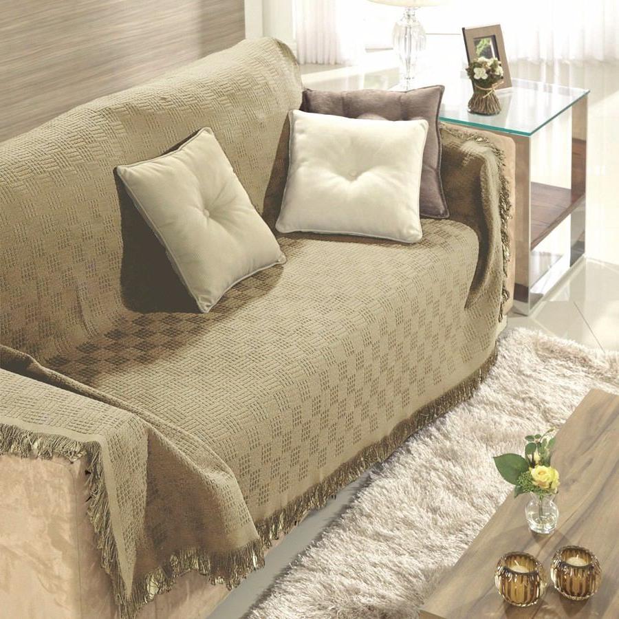 Manta sofa 3ldq Manta Para sofà Dohler London 1 60x2 20m 100 Algodà O Bege R 99