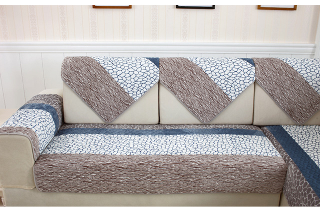 Manta sofa 4pde Flannel sofa Covers Slipcover Manta sofa Couch Cover Non Slip sofa