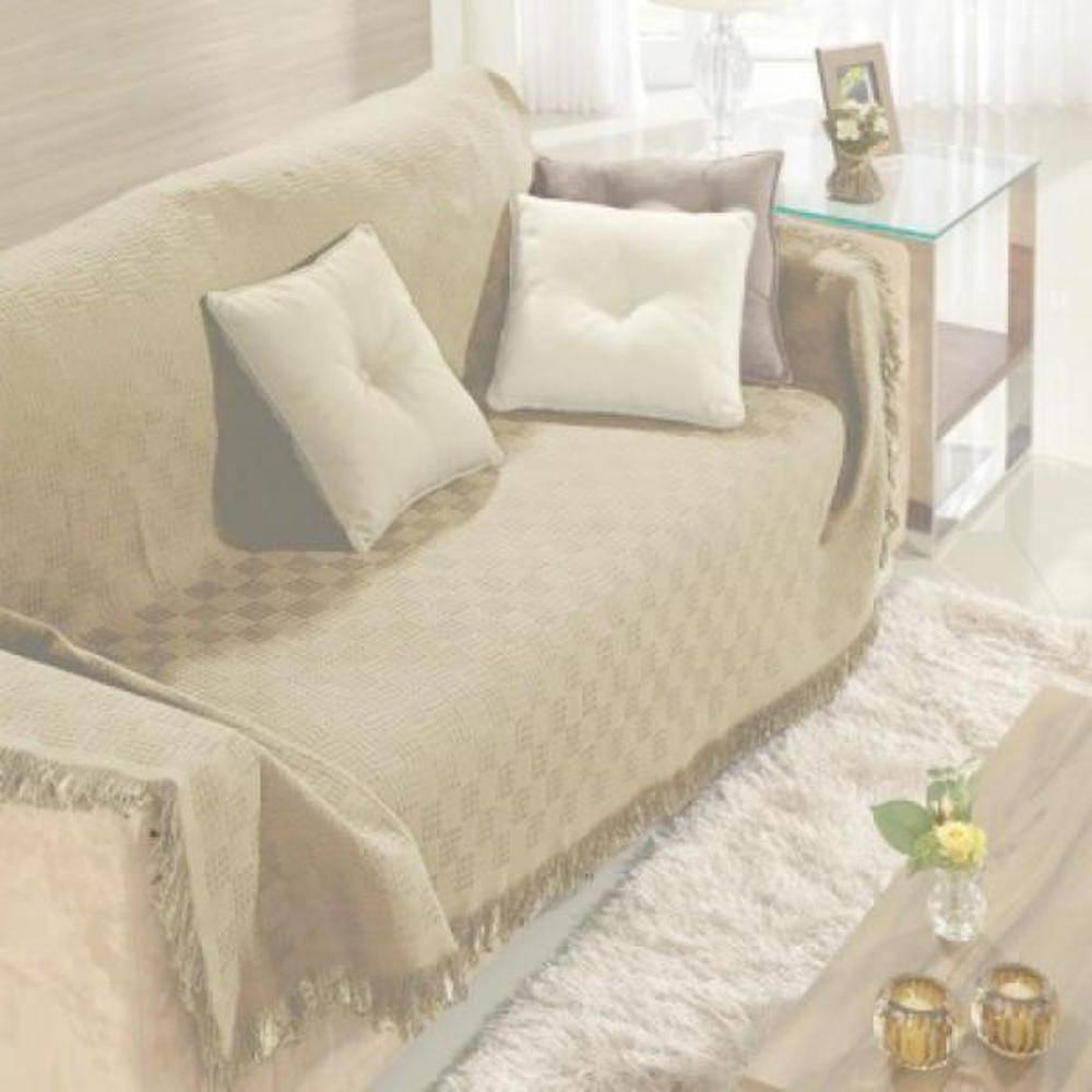 Manta sofa Bqdd Manta Para sofà Dohler London Bege 1 60m X 2 20m Nas Lojas