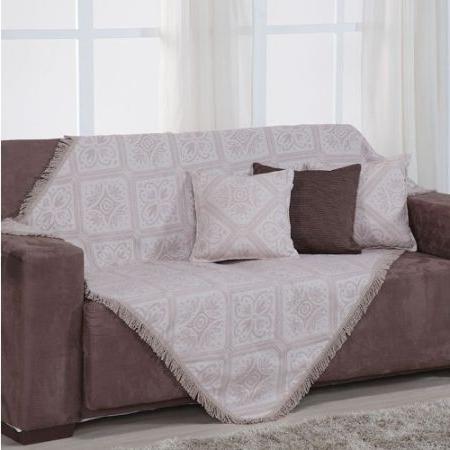 Manta sofa Bqdd Manta Para sofà Porto 130x160cm Bege Fastlar