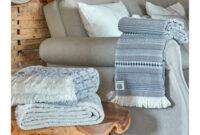 Manta sofa E6d5 Manta Para sofà Azul Bege 130×170 Cm Mantas Decorativas Jacquard