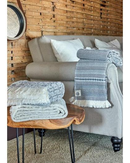 Manta sofa E6d5 Manta Para sofà Azul Bege 130x170 Cm Mantas Decorativas Jacquard