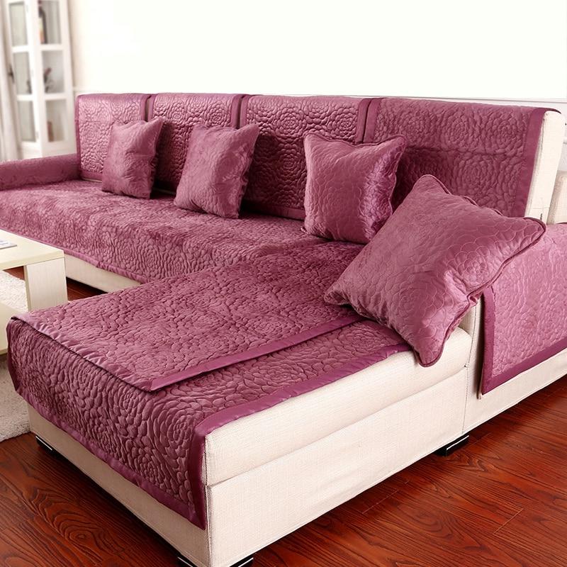 Manta sofa Ffdn 10colors sofa Covers Fleeced Fabric Knit Eco Friendly Anti Mite