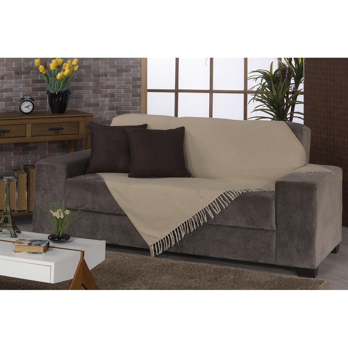 Manta sofa H9d9 Manta Para sofa Ravena 180x130cm Bege Fastlar