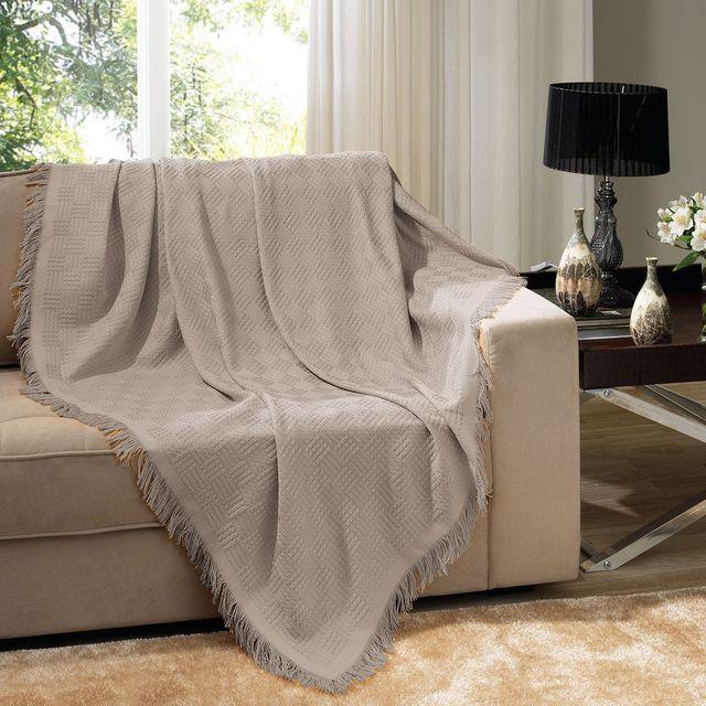Manta sofa Kvdd Manta Para sofà 1 60x2 10m London Dohler Taupe Havan Mobile