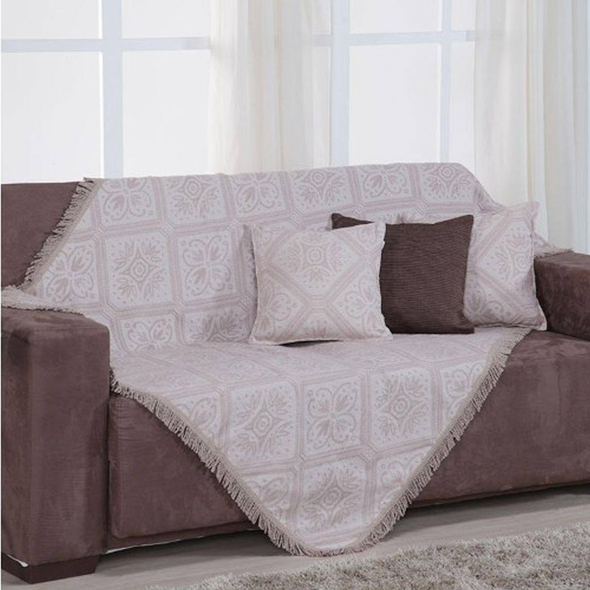 Mantas De sofa Dddy Manta Para sofà Porto 130x200cm Bege Fastlar